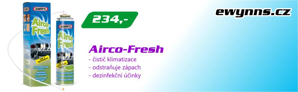 Wynn's Airco-Fresh - čistič klimatizace