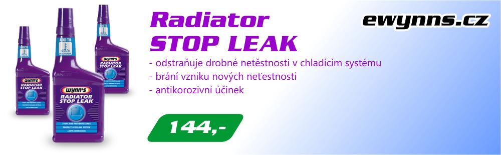 Wynn's Radiator Stop Leak - utěsnění chladiče
